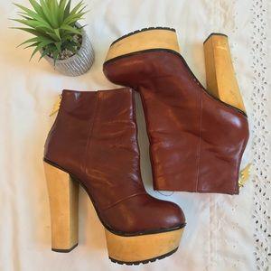 Betsey Johnson Maybill Platform Boots